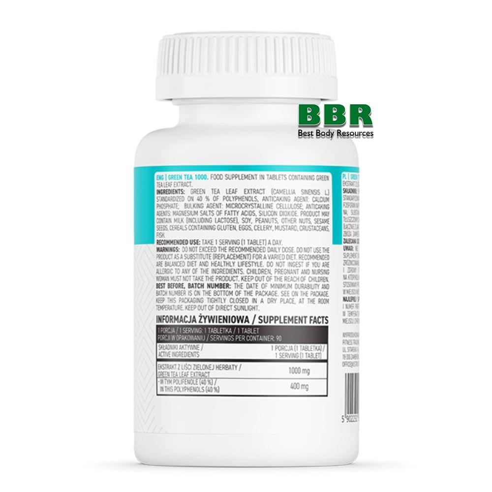 Green Tea 1000 extract 90tab, OstroVit