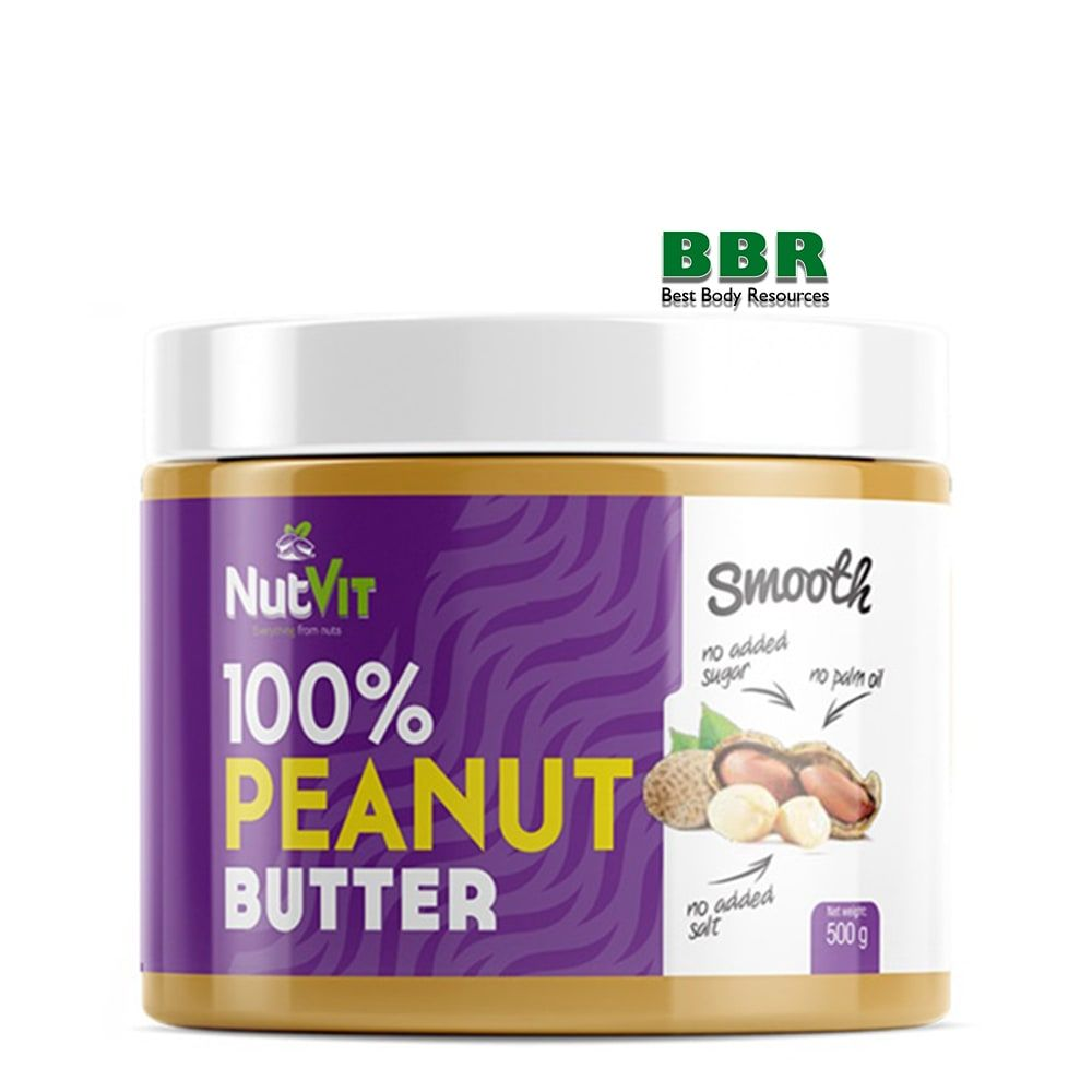 NutVit 100% Peanut Butter 500g, OstroVit