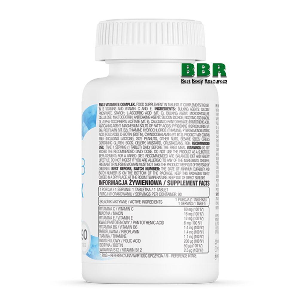 Vitamin B COMPLEX 90tab, OstroVit