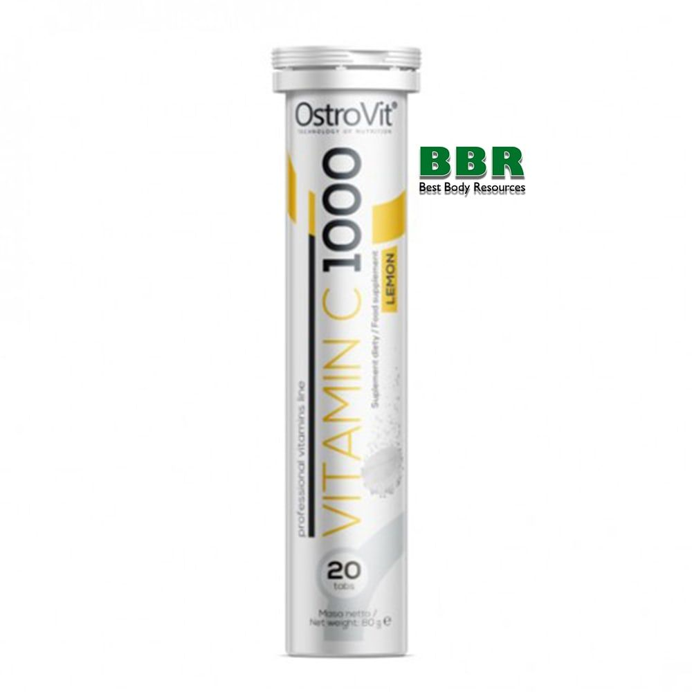 Vitamin C 1000 20tabs, OstroVit