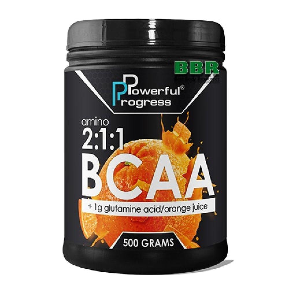 BCAA 500g, Powerful Progress