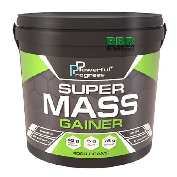 Super Mass Gainer 4kg, Powerful Progress