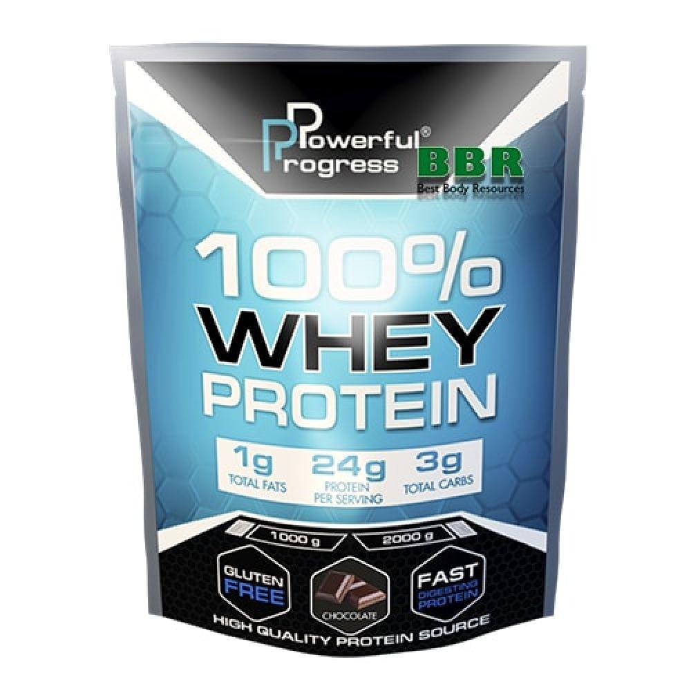 100% Whey Protein 30g, Powerful Progress