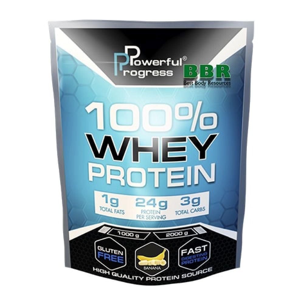 100% Whey Protein 1kg, Powerful Progress