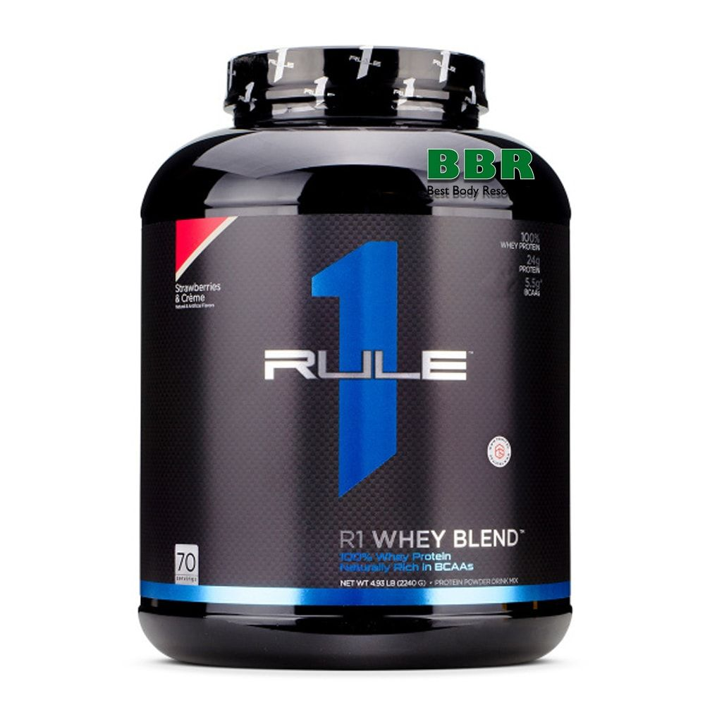 R1 Whey Blend 2,27kg, Rule One