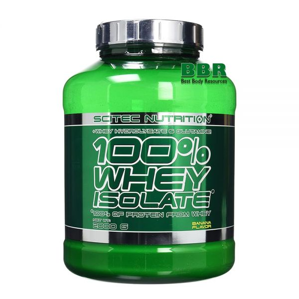 100% Whey Isolate 2000g, Scitec Nutrition