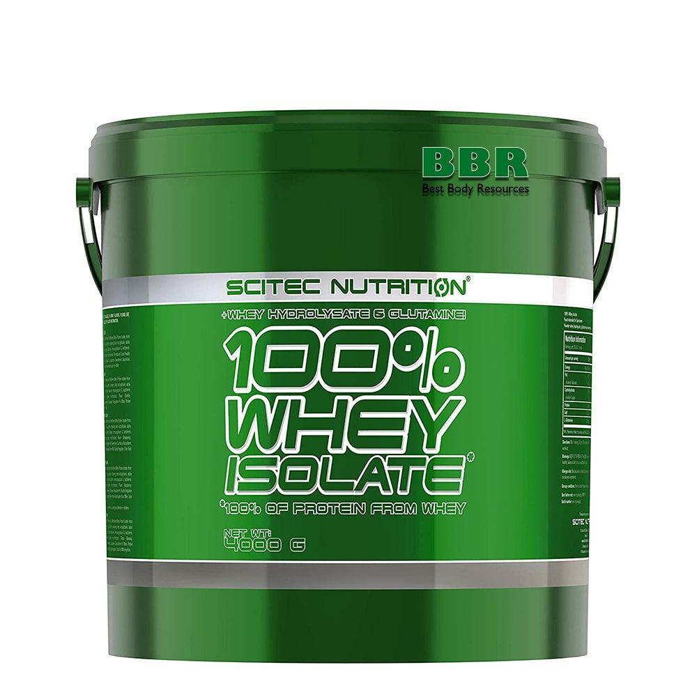 100% Whey Isolate 4000g, Scitec Nutrition