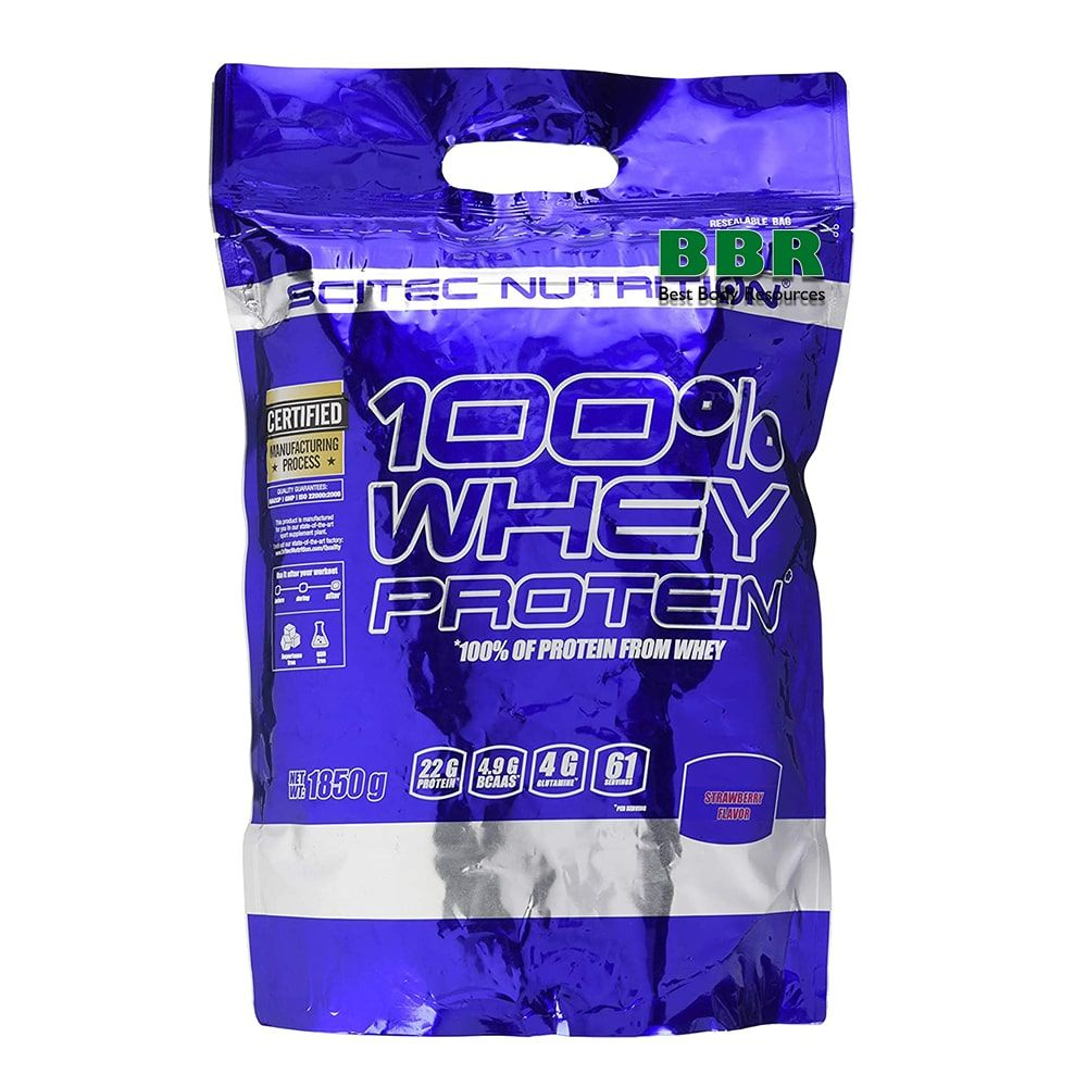 100% Whey Protein 1850g, Scitec Nutrition