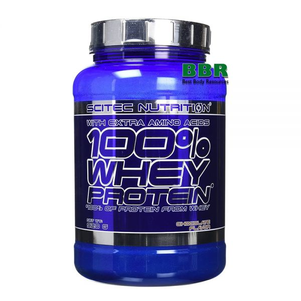 100% Whey Protein 920g, Scitec Nutrition