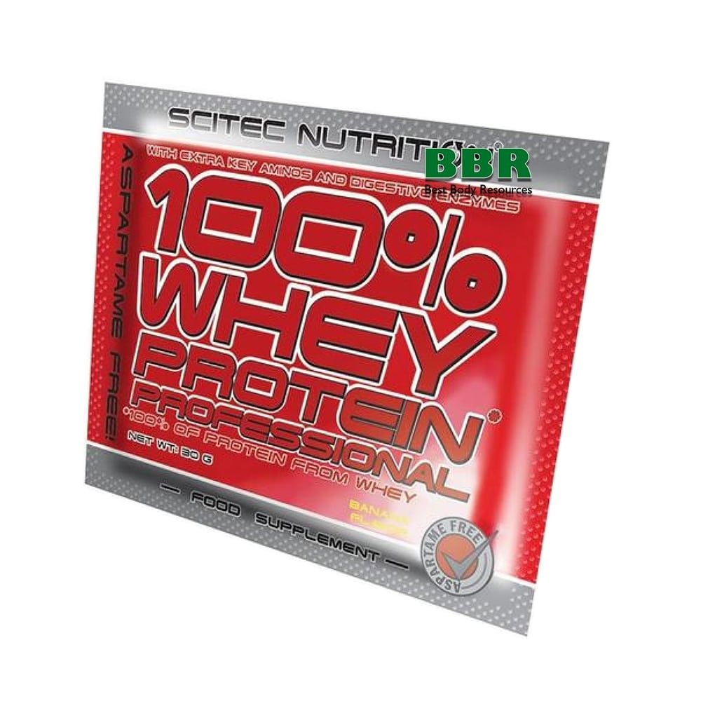 100% Whey Protein Prof. 30g, Scitec Nutrition