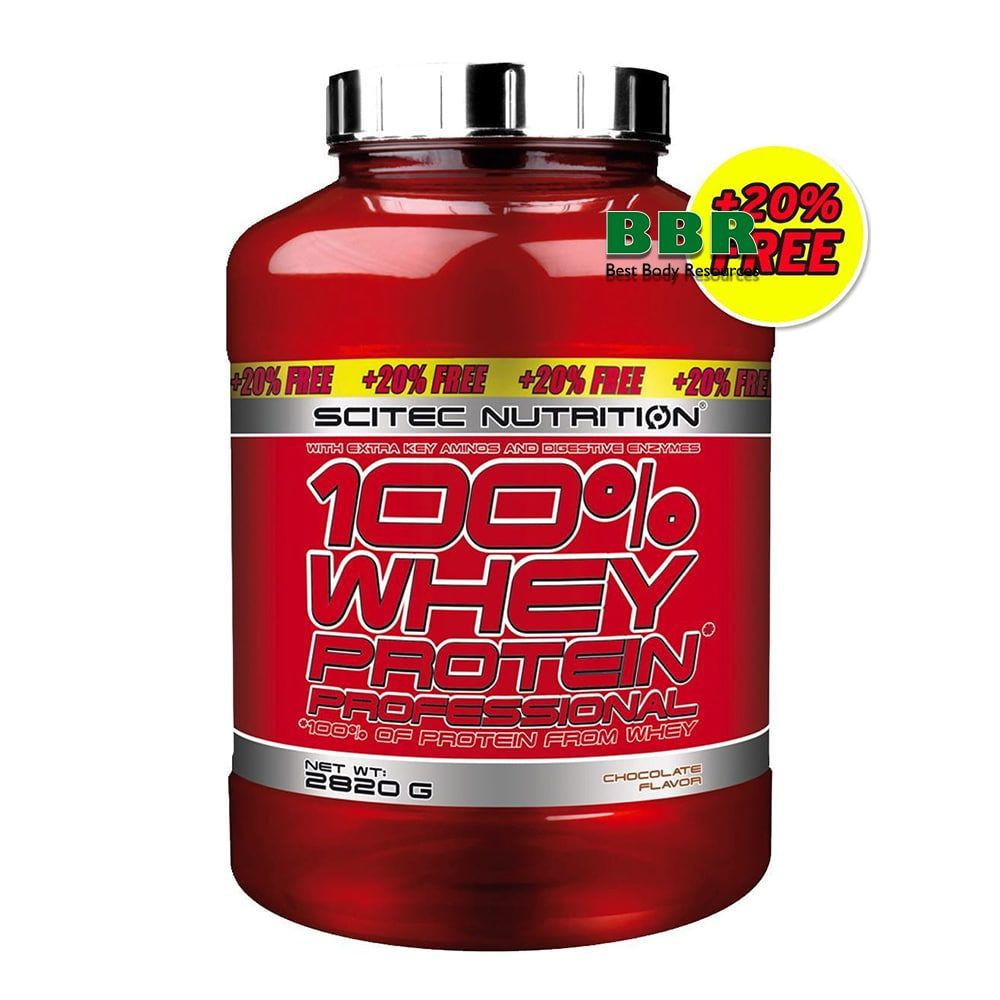 100% Whey Protein Professional 2820g, Scitec Nutrition