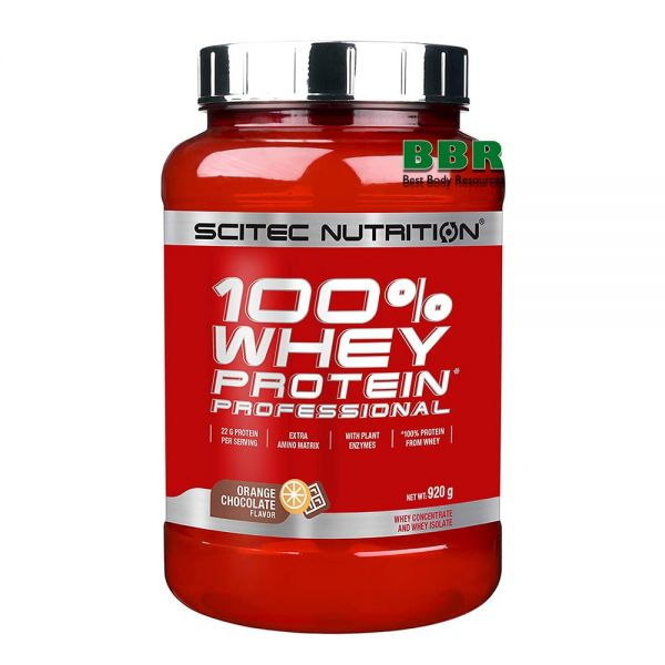 100% Whey Protein Professional 920g, Scitec Nutrition