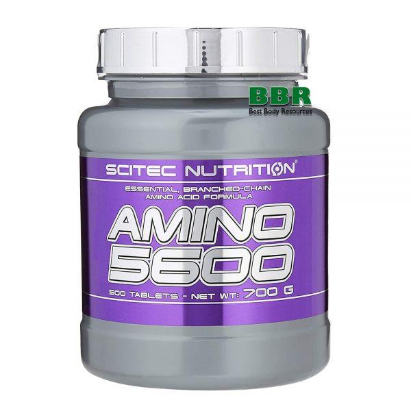 Amino 5600 500tab, Scitec Nutrition