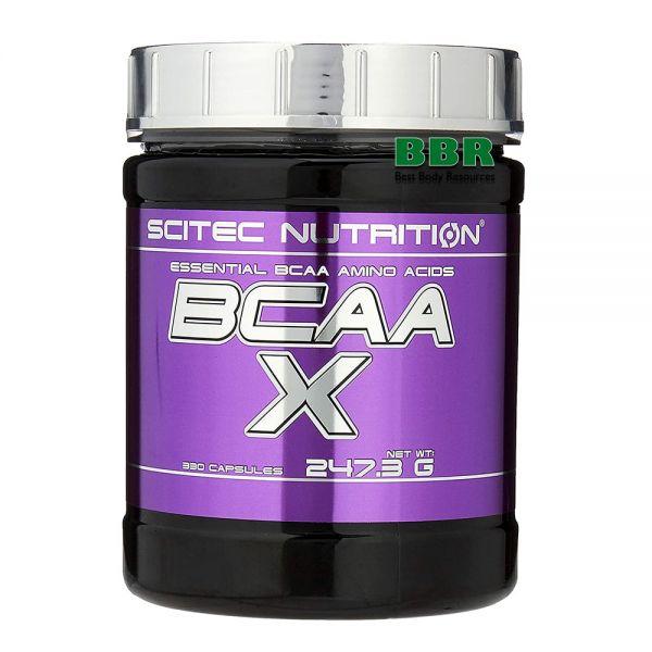 BCAA-X 330caps, Scitec Nutrition