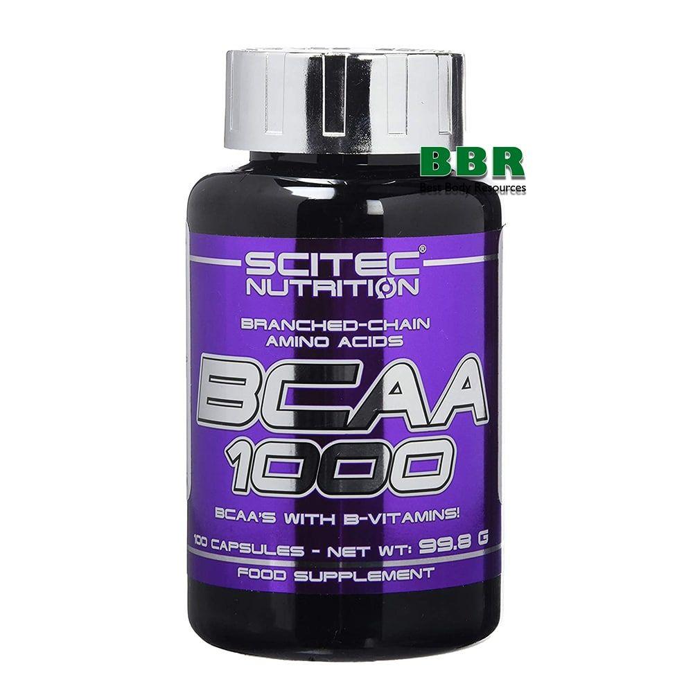 BCAA 1000 100caps, Scitec Nutrition
