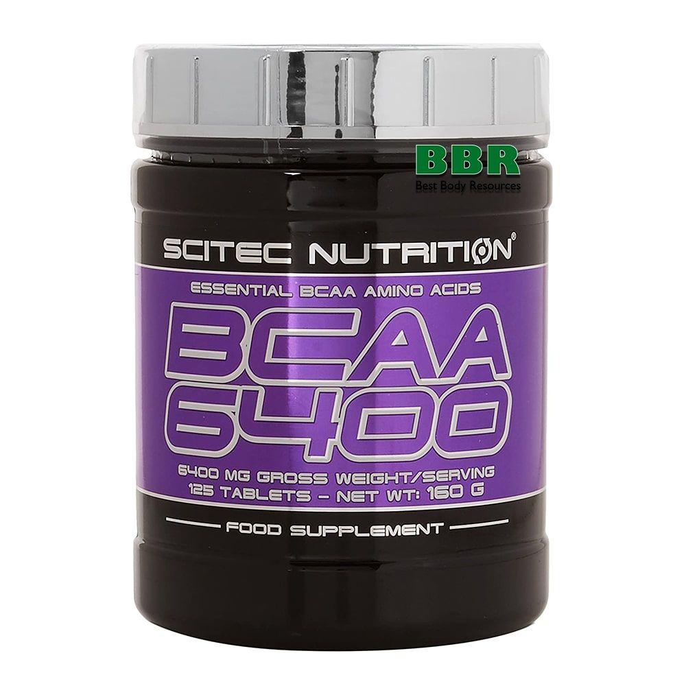 BCAA 6400 125tab, Scitec Nutrition