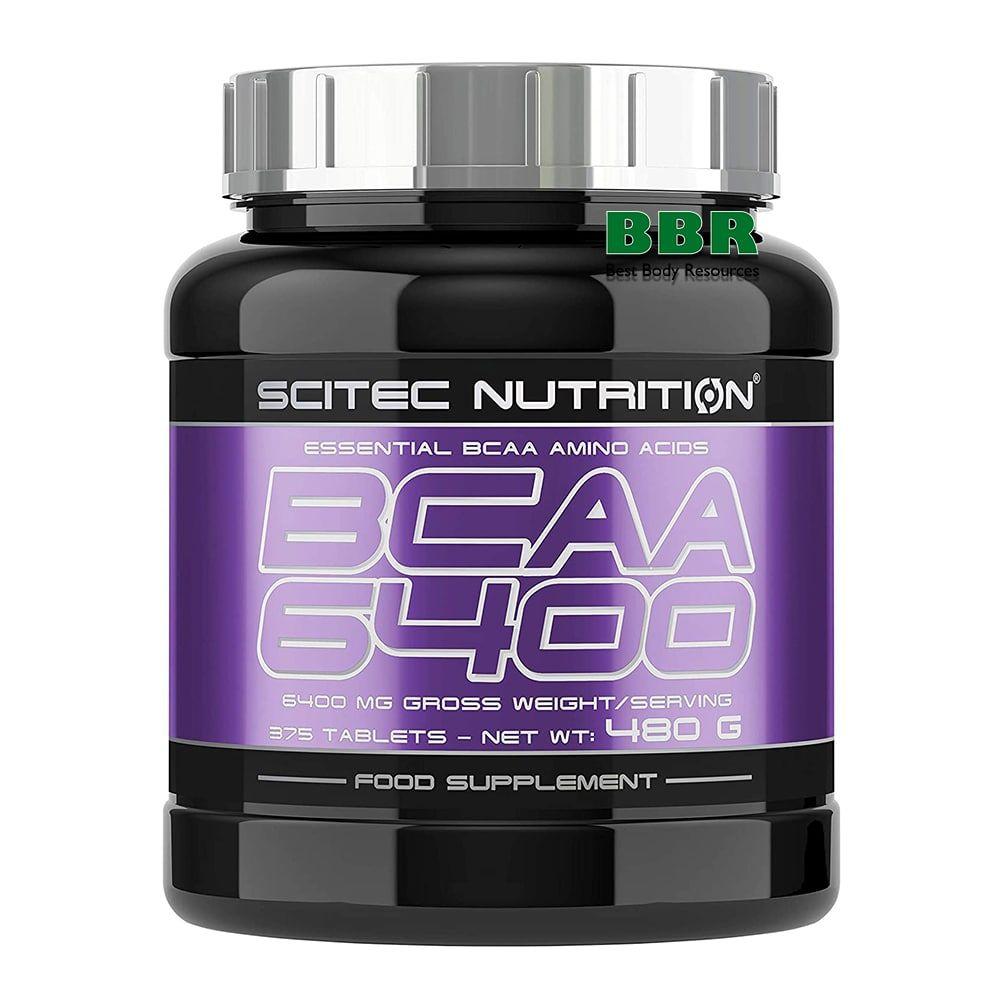 BCAA 6400 375tab, Scitec Nutrition