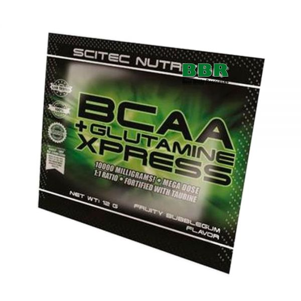 BCAA+Glutamine Xpress 12g, Scitec Nutrition