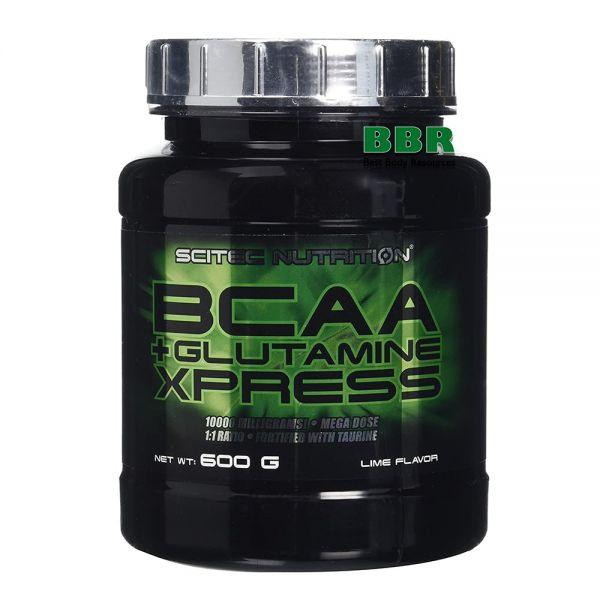 BCAA+Glutamine Xpress 600g, Scitec Nutrition