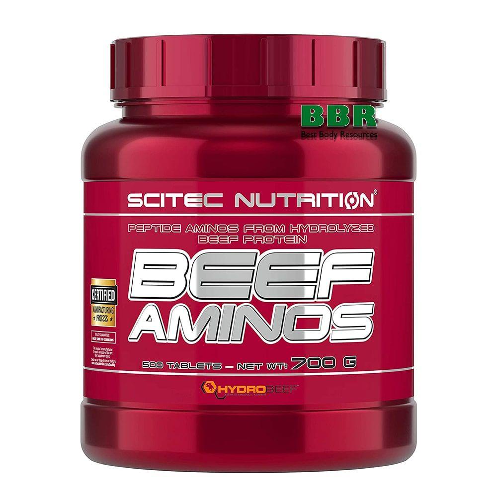 Beef Aminos 500tab, Scitec Nutrition