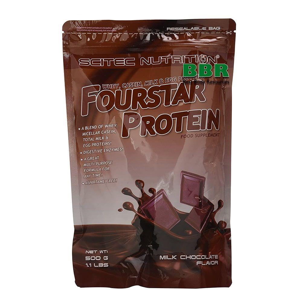 Fourstar Protein 500g, Scitec Nutrition