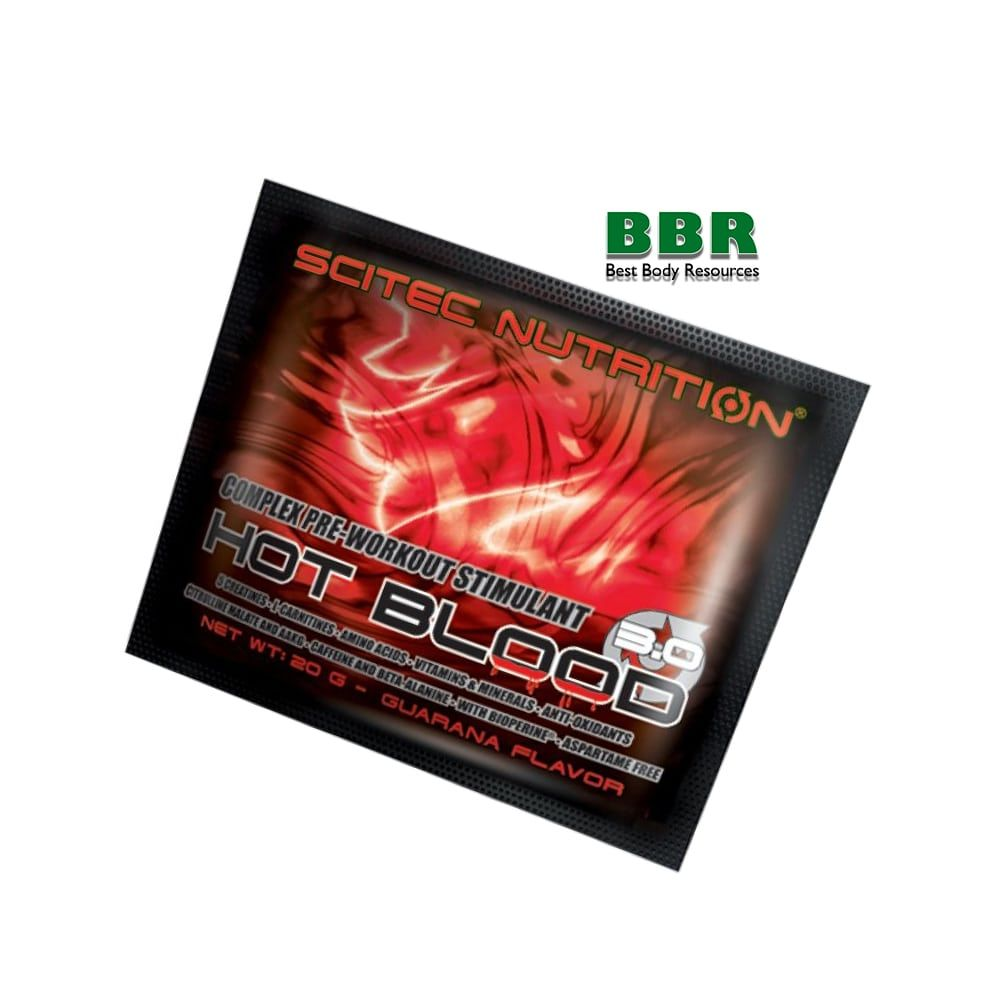 Hot Blood 3.0 20g, Scitec Nutrition