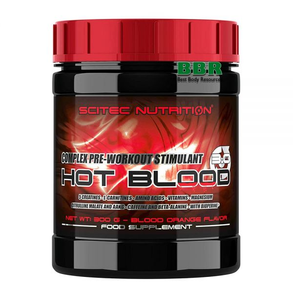 Hot Blood 3.0 300g, Scitec Nutrition