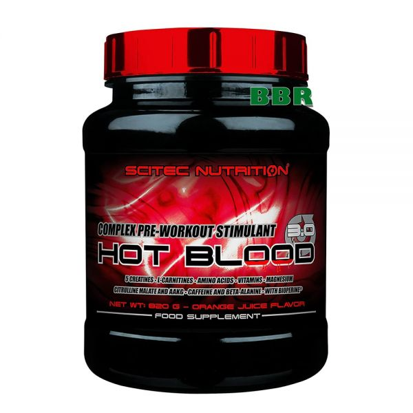 Hot Blood 3.0 820g, Scitec Nutrition