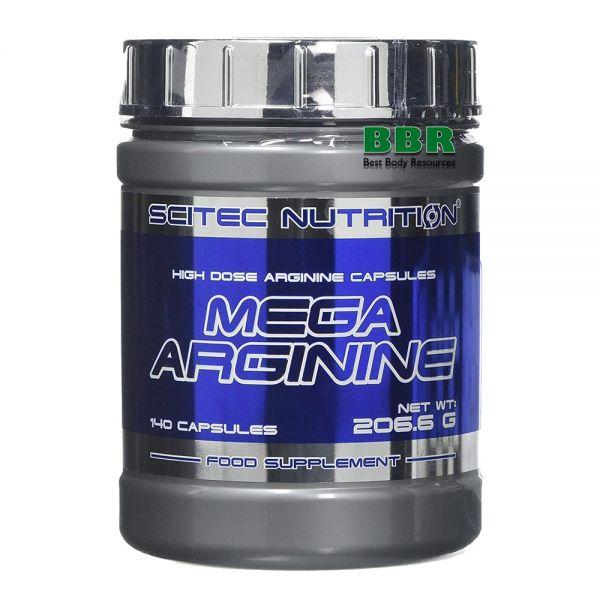 Mega Arginine 140caps, Scitec Nutrition
