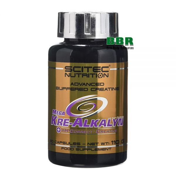 Mega Kre-Alkalyn 120caps, Scitec Nutrition