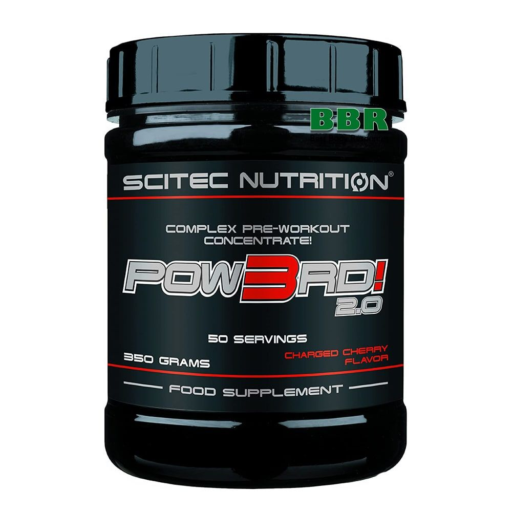 POW3RD! 2.0 350g, Scitec Nutrition