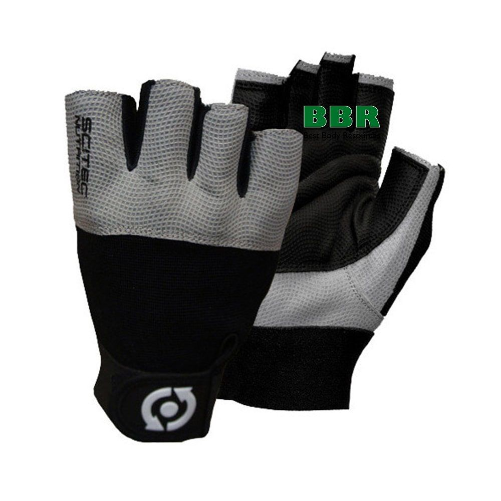 Перчатки Glove Scitec Grey Style, Scitec Nutrition