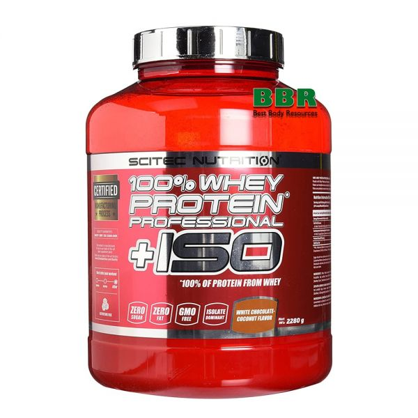 Whey Protein Prof. + ISO 2280g, Scitec Nutrition