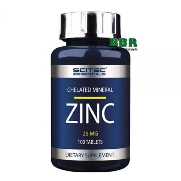 Zinc 25mg 100 tabl, Scitec Nutrition