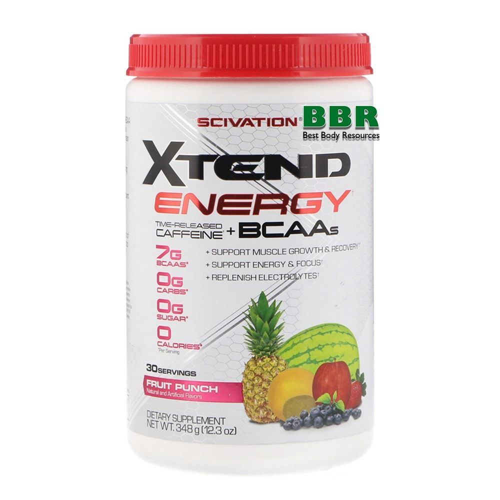 Xtend BCAA Energy 30 Servings, Scivation