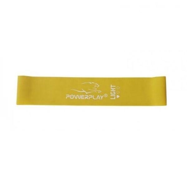 Фитнес резинка 4114 Yellow, Power Play