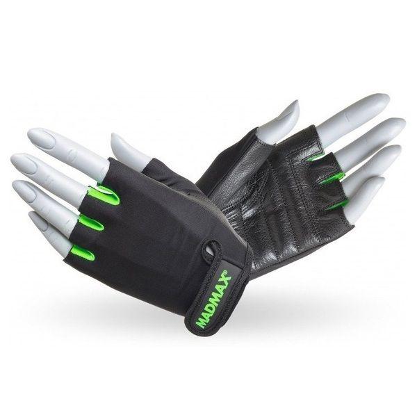 Перчатки Rainbow MFG 251, MadMax Black-Neon green