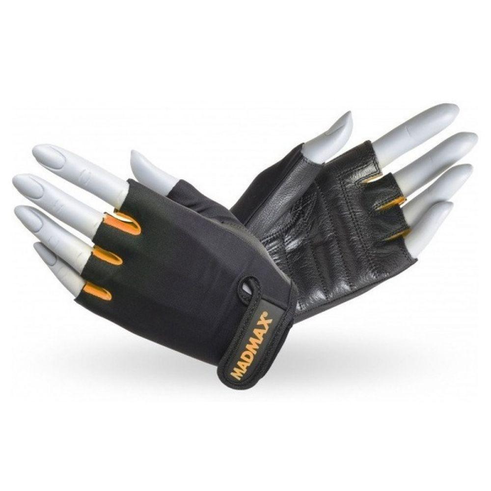 Перчатки Rainbow MFG 251, MadMax Black-Neon orange