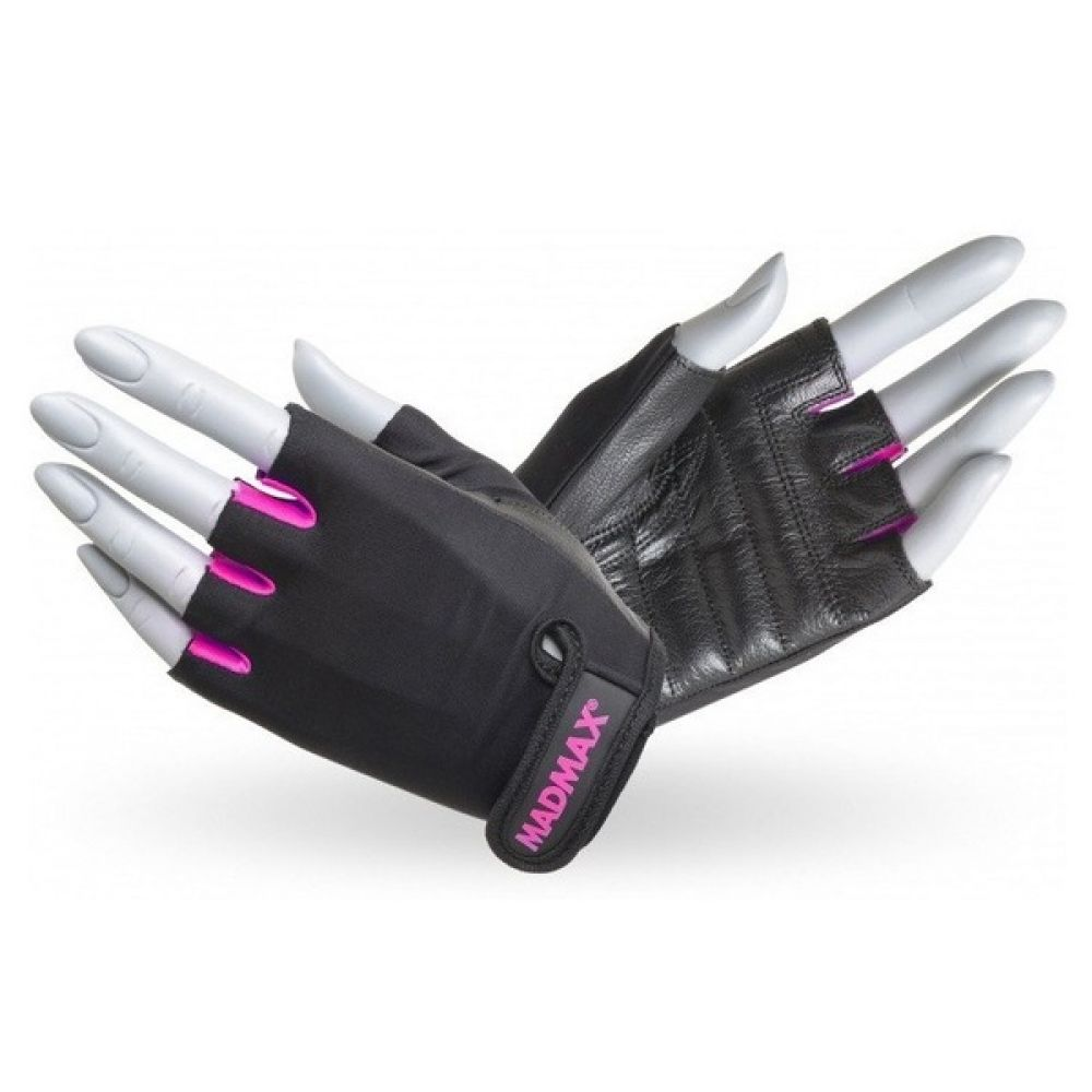 Перчатки Rainbow MFG 251, MadMax Black-Neon pink