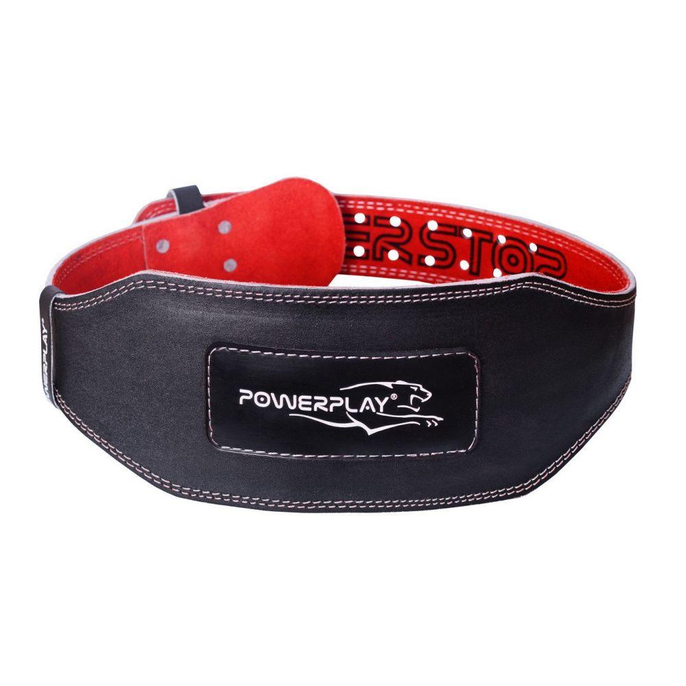 Пояс Атлетический 5053 Black/Red, PowerPlay