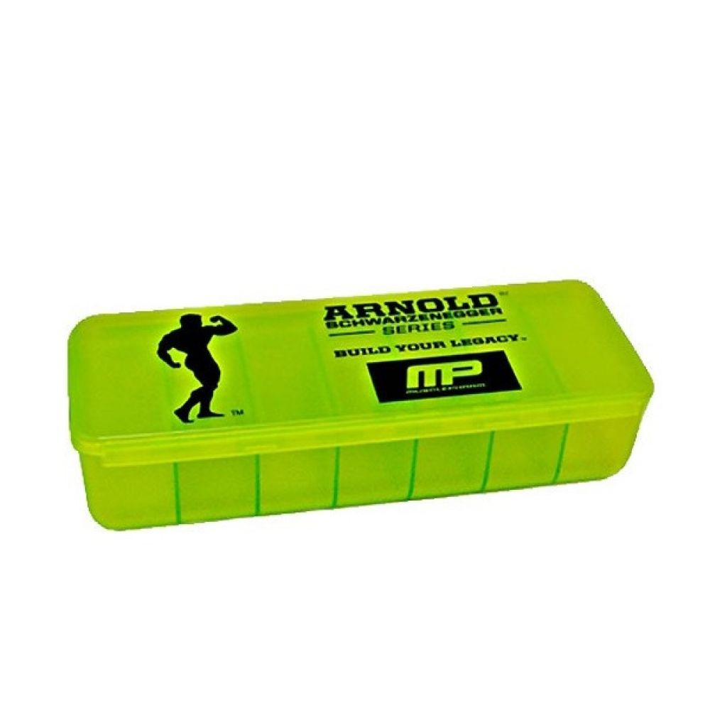 Таблетница Arnold Pill Box 7 Section, MusclePharm