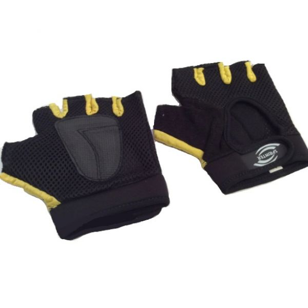 Вело-Перчатки с сеткой Желтые, Sprinter