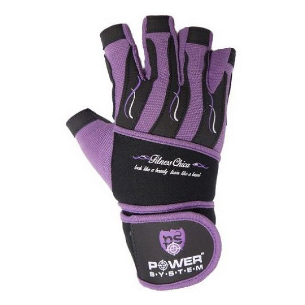 Перчатки Fitness chica PS-2710 Purple, Power System