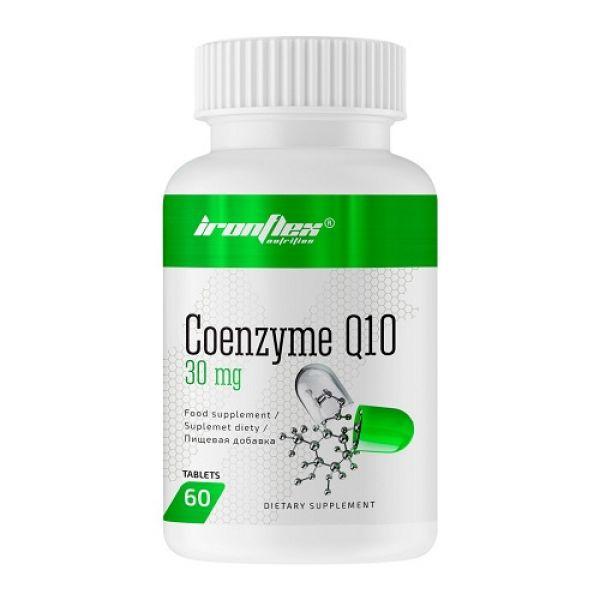Coenzyme Q10 30mg 60tab, IronFlex