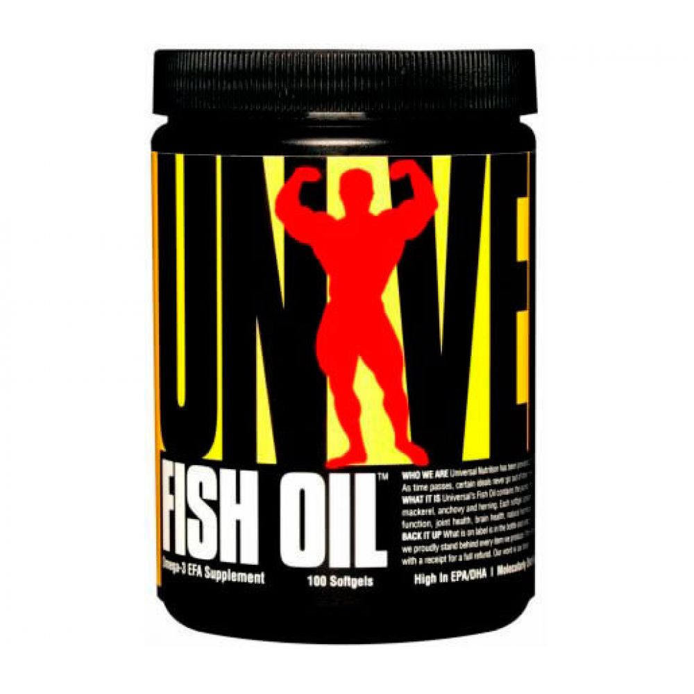 Fish Oil 100 softgels, Universal
