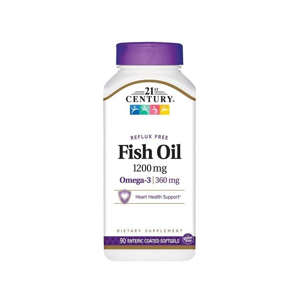 Fish Oil 1200mg 90 softgels, 21st Century