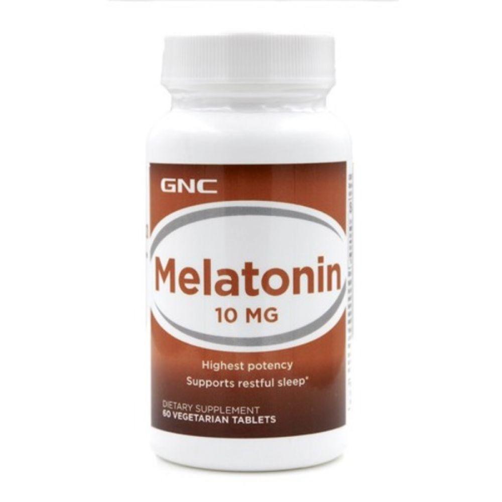 Melatonin-10 60caps, GNC