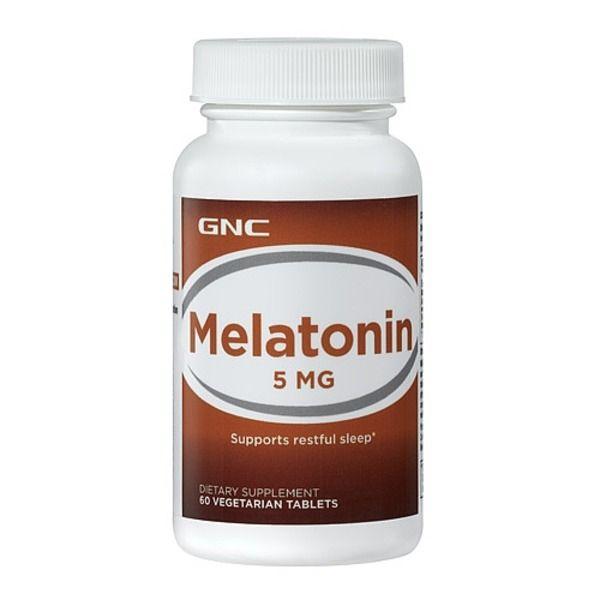 Melatonin-5 60caps, GNC