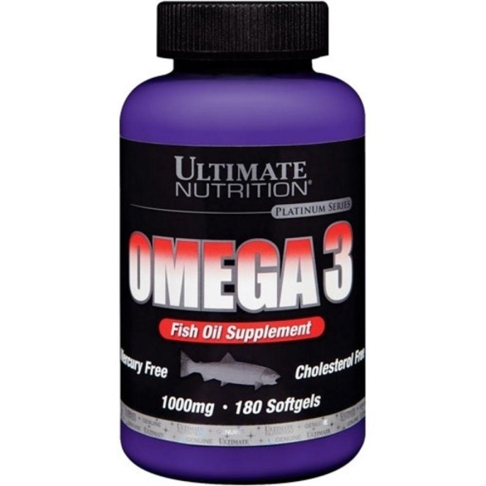 Omega 3 180 Softgels, Ultimate Nutrition