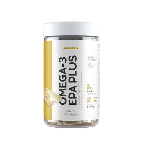 Omega 3 EPA Plus 90 softgels, Prozis